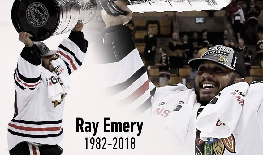 Hockey world mourns loss of Ray Emery