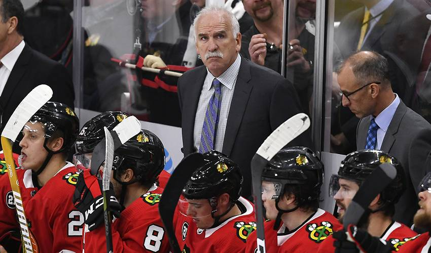 Blackhawks fire 3-time Stanley Cup-winning coach Quenneville