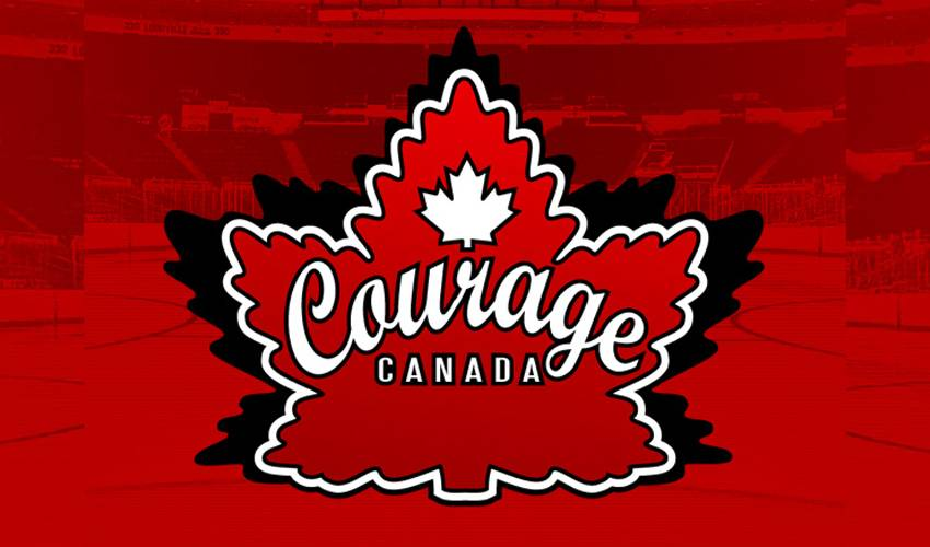 NHLPA Takes Part in the Courage Canada Blind Hockey Tournament