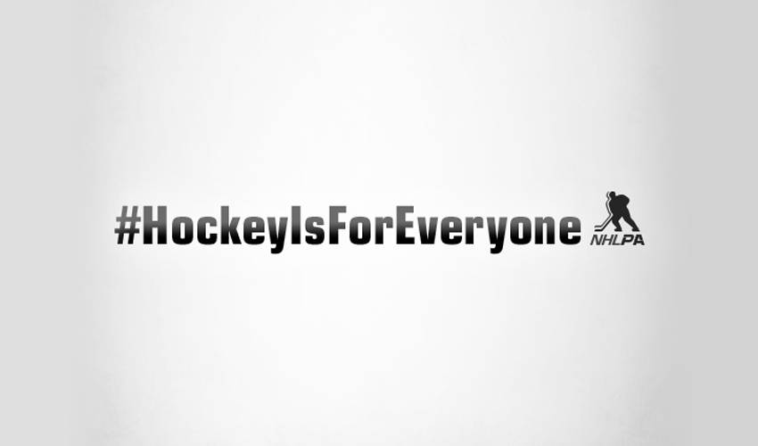 HOCKEY IS FOR EVERYONE MONTH BEGINS TODAY