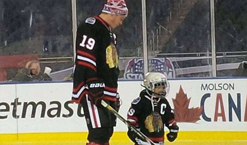 Jonathan Toews Grants Nicholas' Make-A-Wish Dream