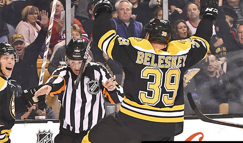 Beleskey Gives Back in Barrie