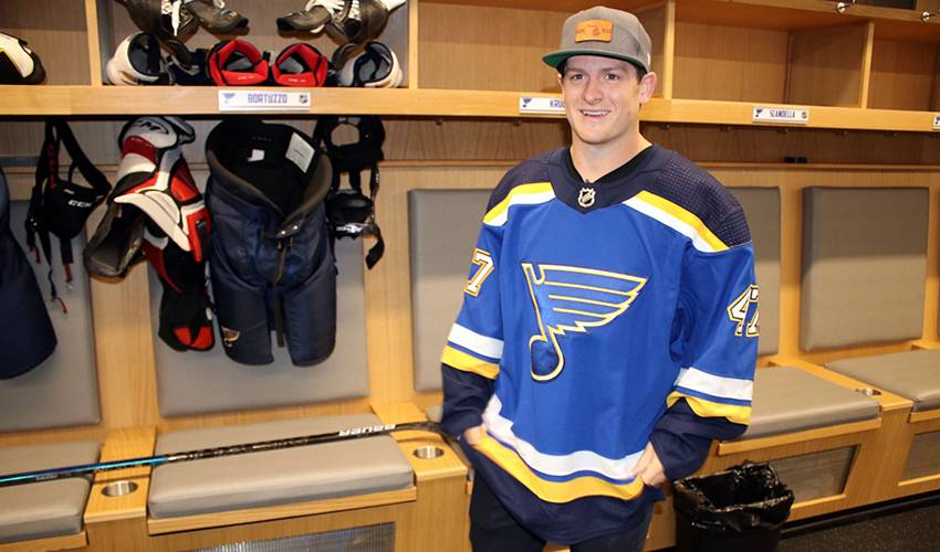 Krug settling into St. Louis ahead of Blues debut