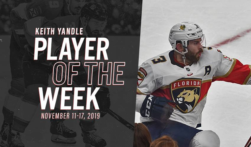 Player of the Week | Keith Yandle