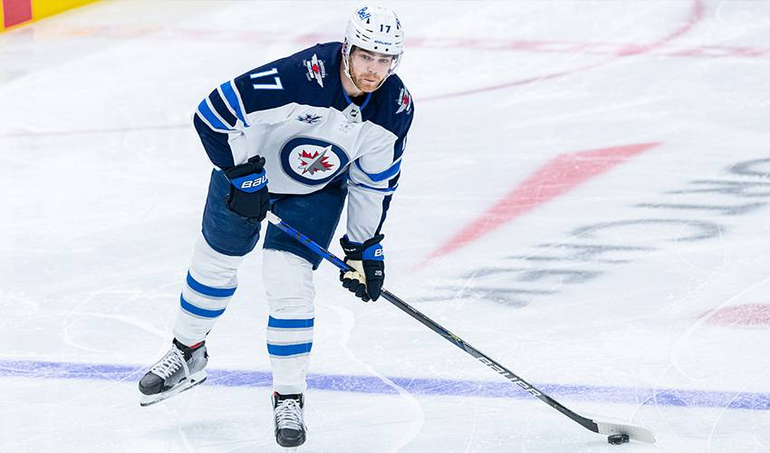 Jets sign forward Adam Lowry to a five-year contract extension