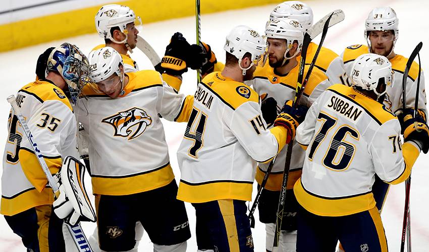 Predators brace for physical series vs Jets in 2nd round