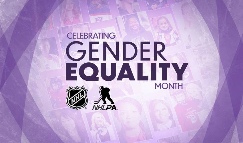 NHL, NHLPA celebrate International Women's Day and Gender Equality Month