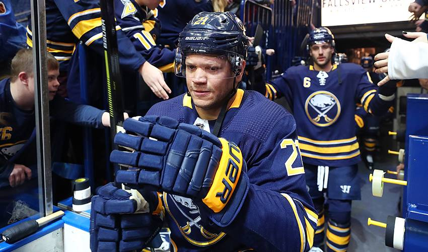 Sabres' Okposo feels good as he recovers from 3rd concussion