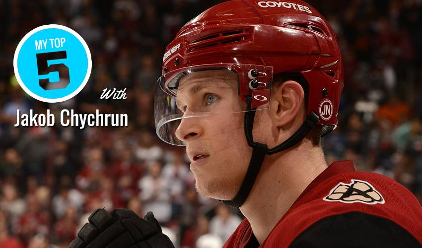 My Top 5 | Jakob Chychrun
