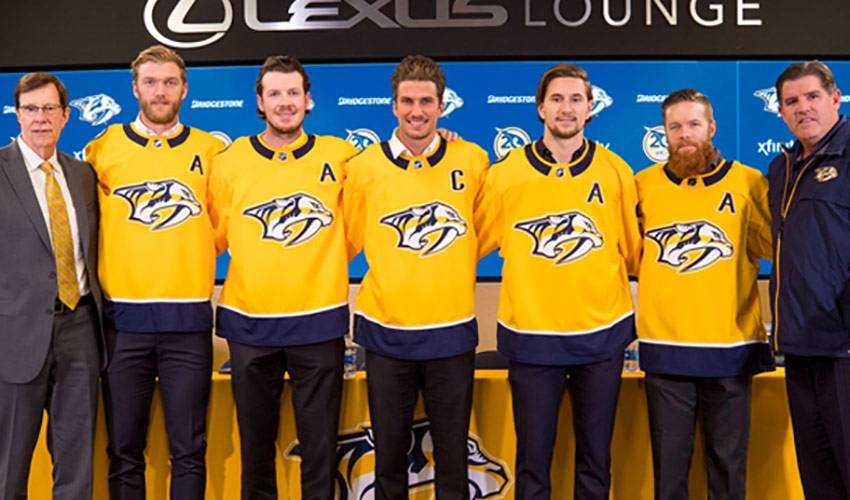 'Right time' for Roman Josi to wear the 'C'