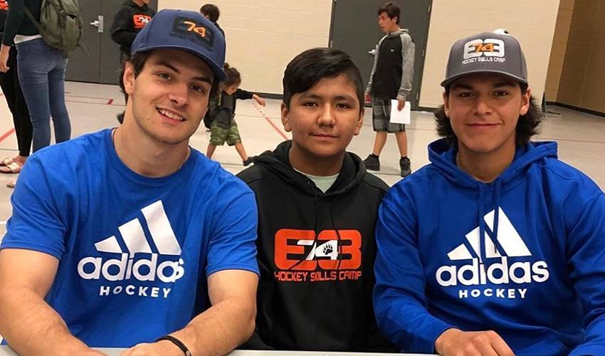 Barzal on Bear's skills camp: If I could spend a month there, I would