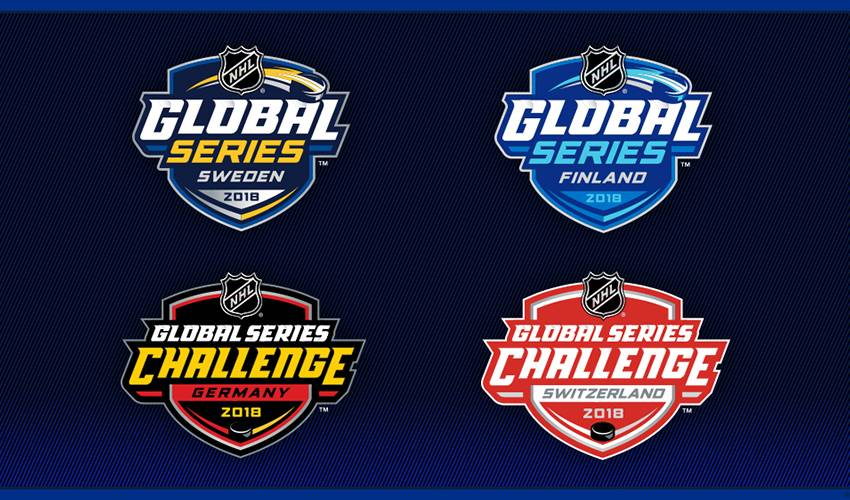 NHL, NHLPA Announce 2018 NHL Global Series Information