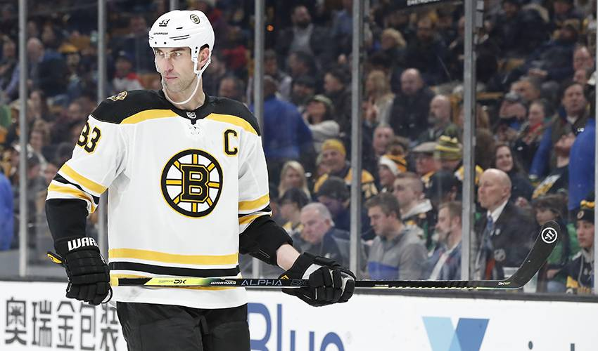 Bruins Sign 42 Year Old Zdeno Chara To 1 Year Extension Nhlpa Com
