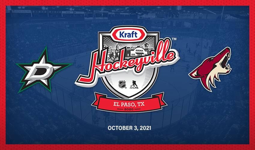 Kraft Hockeyville USA 2020 to feature Arizona Coyotes and Dallas Stars in NHL preseason matchup
