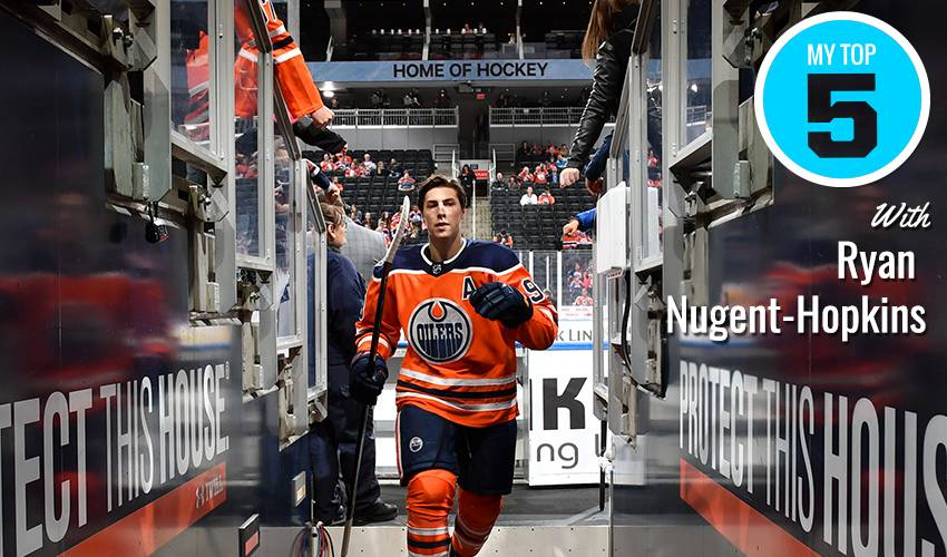 My Top 5 | Ryan Nugent-Hopkins