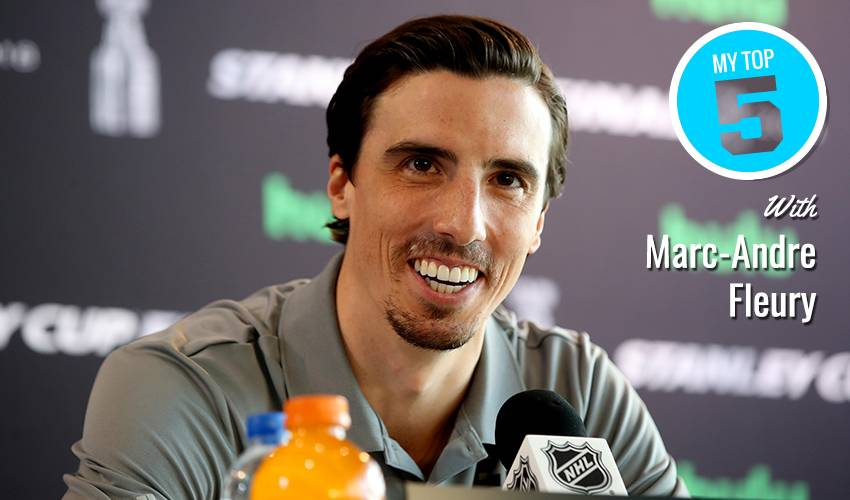 My Top 5 | Marc-Andre Fleury