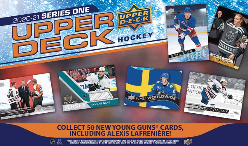 2020-2021 Upper Deck Series One continues legacy with a twist