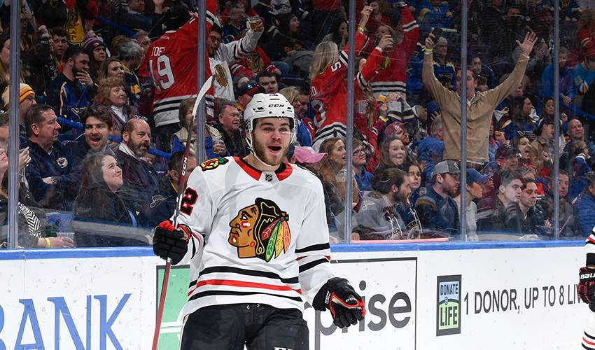With NHL firsts out of the way, DeBrincat sets sights higher