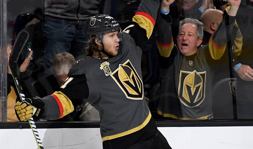 Golden Knights sign F William Karlsson to 8-year contract