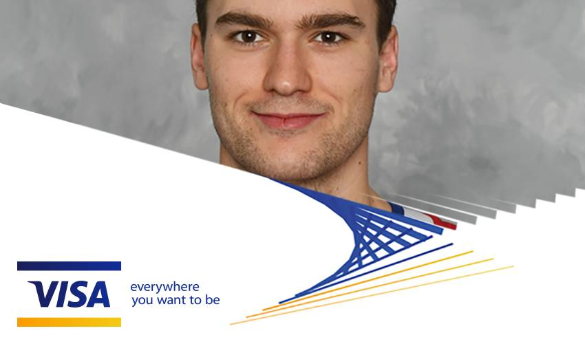 Visa Presents: Q&A with Jonathan Drouin