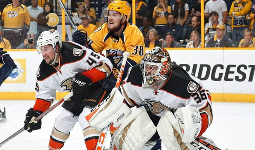 Gibson Gives Ducks Net Gains