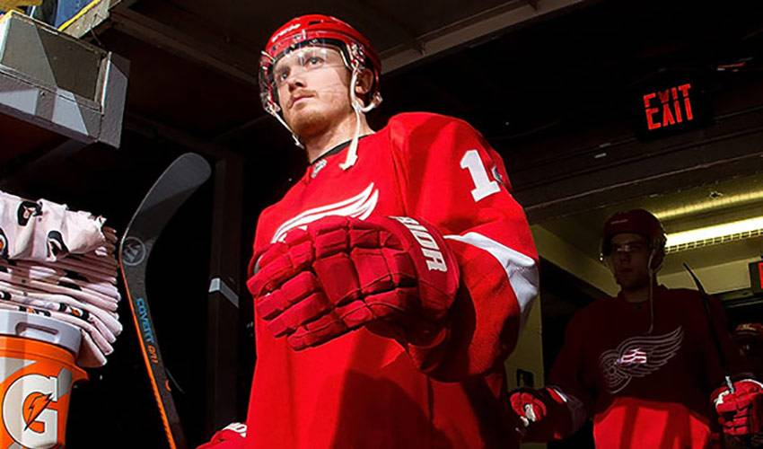 Gustav Nyquist Is A Thoroughbred. Literally.