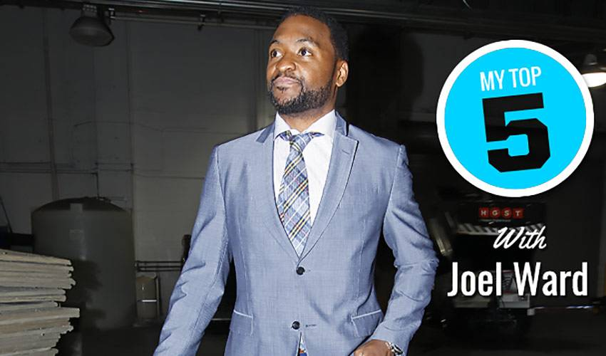 My Top 5: Joel Ward's gifts for teammates