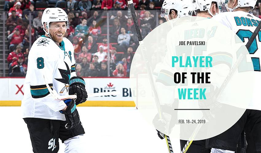 Player of the Week | Joe Pavelski