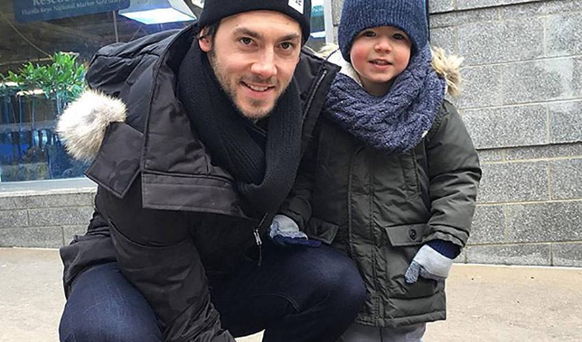 Kris Letang Visits Penguin Named After Him