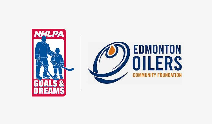 NHLPA Goals & Dreams and the Oilers Foundation Donate $27,000 to Sport Central