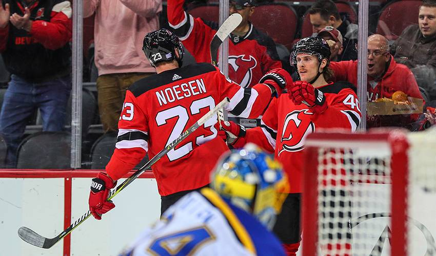 Devils agree to terms with Coleman, Noesen