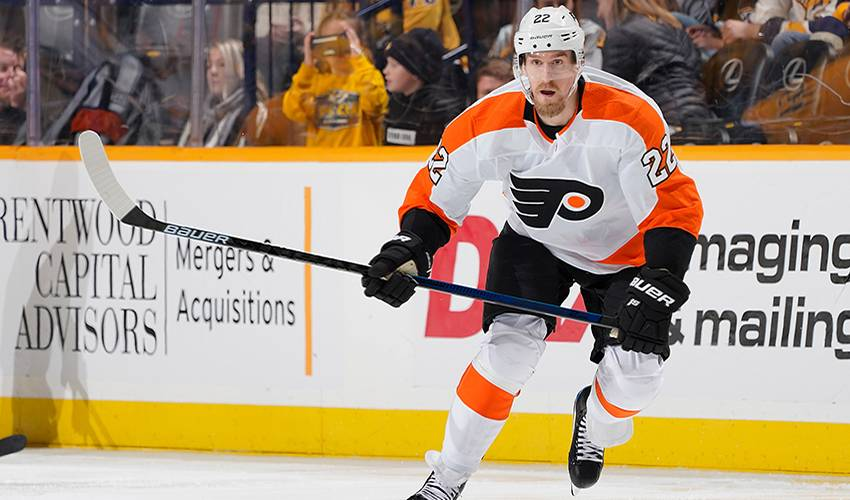 Flyers place forward Dale Weise on waivers