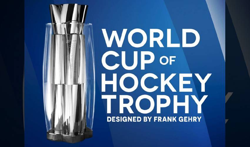 WORLD CUP OF HOCKEY TROPHY UNVEILED