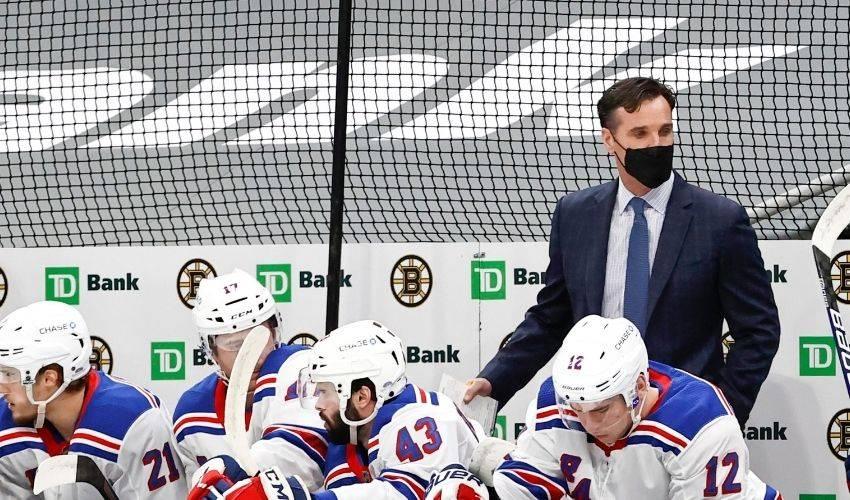 New York Rangers fire coach Dave Quinn, 3 assistants