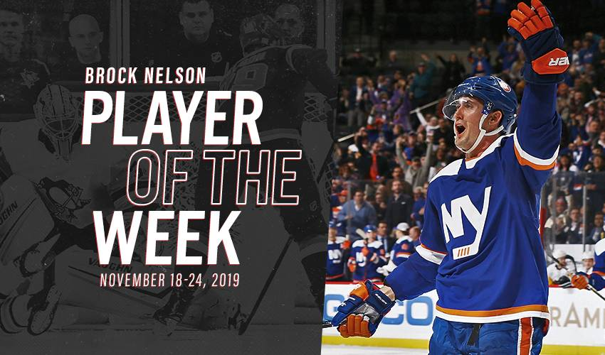 Player of the Week | Brock Nelson