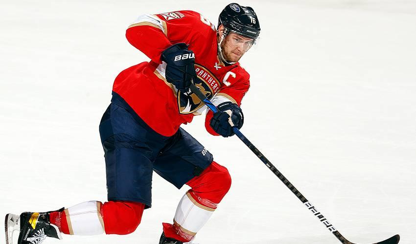Panthers' Barkov wins Selke Trophy as best defensive forward