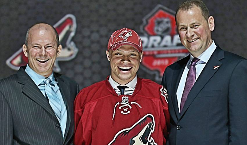 Behind-The-Scenes of Max Domi's NHL Draft Experience