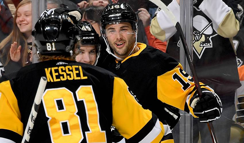Brassard prepared for long playoff run with Pittsburgh