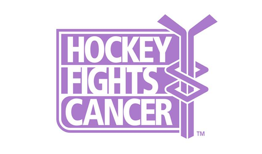 ANNUAL HOCKEY FIGHTS CANCER AWARENESS CAMPAIGN BEGINS OCT. 19
