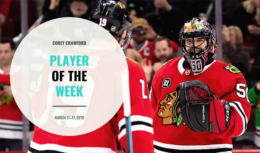 Player of the Week | Corey Crawford