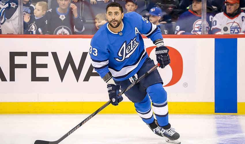 """Jets coach Maurice: Byfuglien """"out for a while"""" with lower-body injury"""