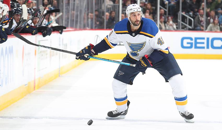 Blues sign Bortuzzo to 3-year extension