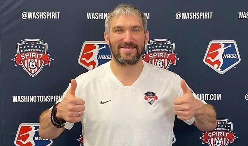 Ovechkin joins Washington Spirit ownership group