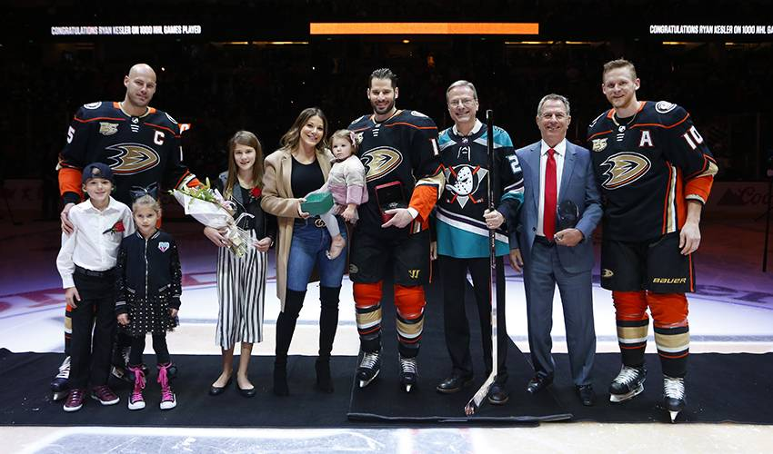 Resiliency guides Kesler to milestone game