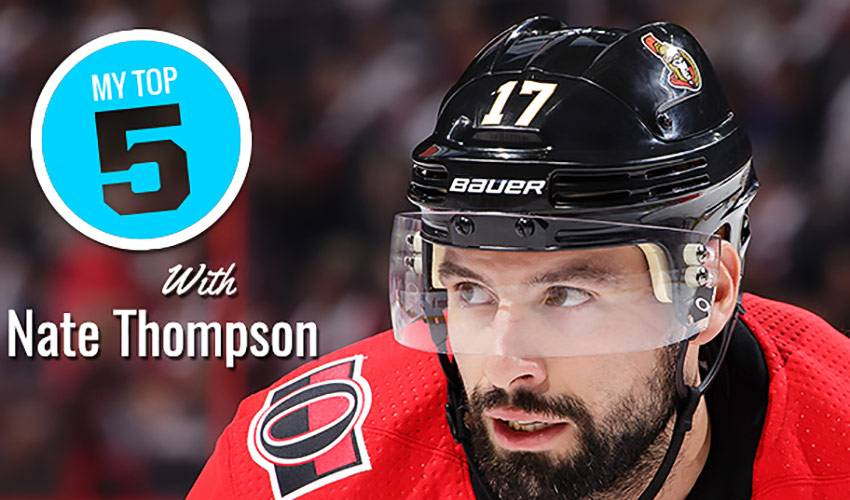 My Top 5 | Nate Thompson