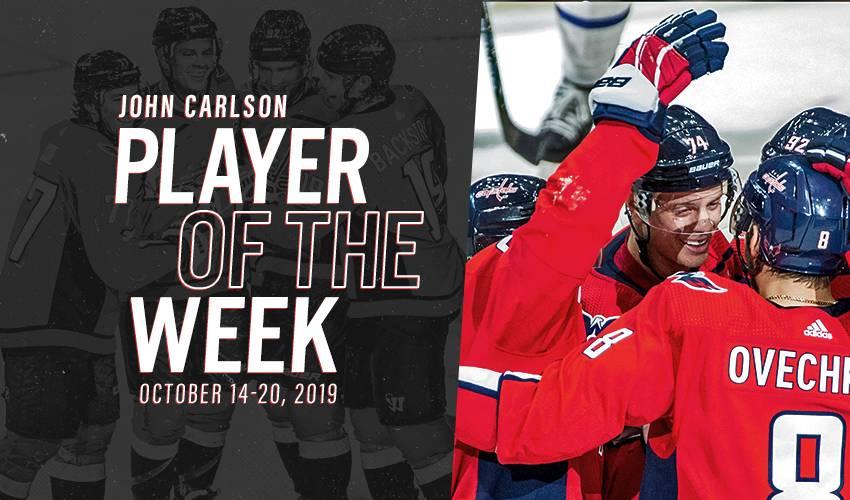 Player of the Week   John Carlson