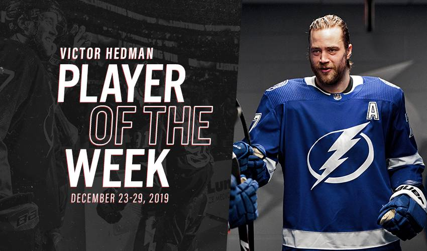 Player of the Week   Victor Hedman