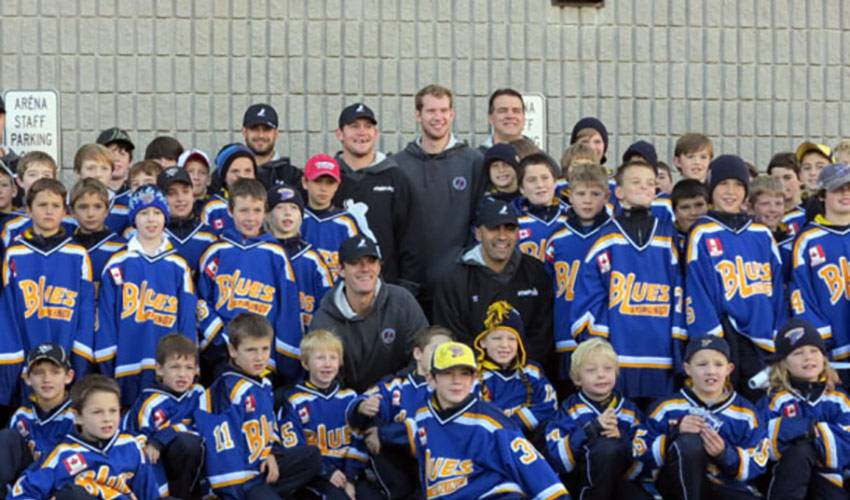 NHLPA Supports Stirling-Rawdon Minor Hockey