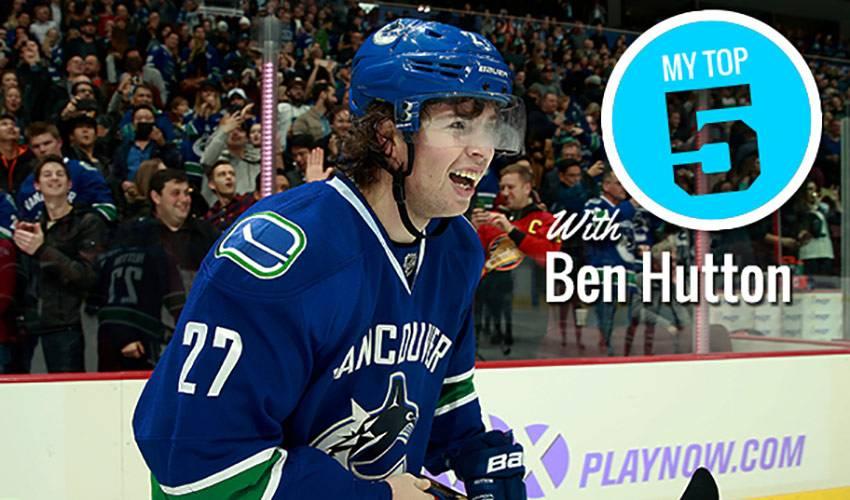 My Top 5 | Ben Hutton