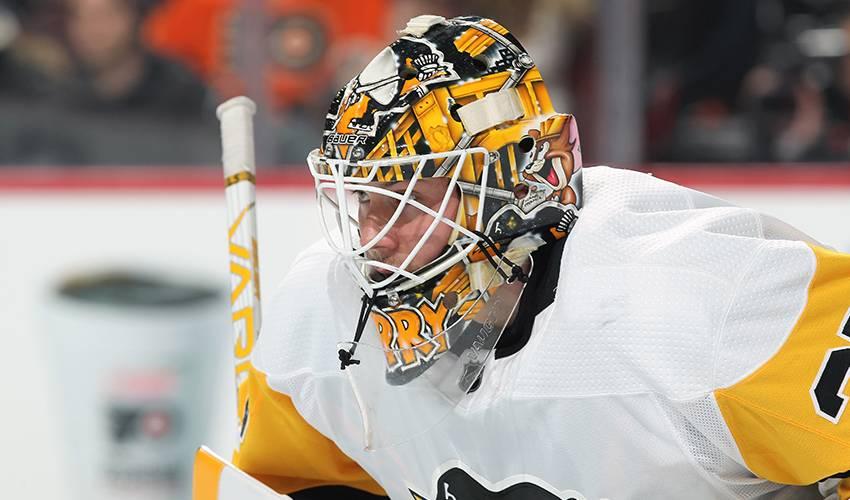 Penguins sign backup G Jarry to 2-year deal